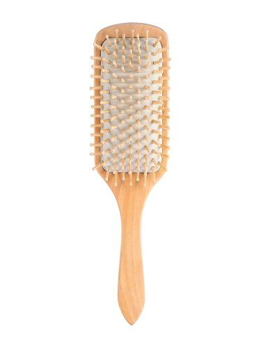 Cushion Comb Natural Wooden Anti Static Healthy Massage Hair which is durable and good for the health of your hair   With smooth texture and Wavying