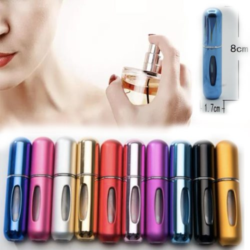 5 ml Perfume Dispensing Spray Bottle Portable Cosmetic 5ml color perfume dispensing spray bottle empty bottle round head perfume spray pen small