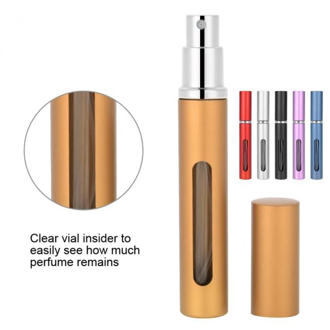 Travel Mini Portable Refillable Perfume Atomizer Bottle Empty Cosmetic Containers For Spray Scent Pump delicate workmanship