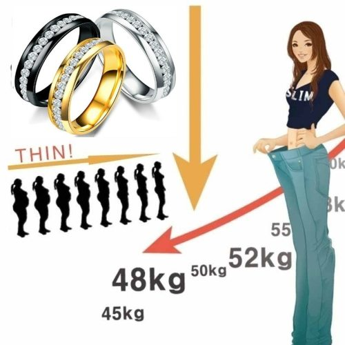 Lose Wight Fat Burning Health Ring Beauty Body Tool Health Tightening Arms