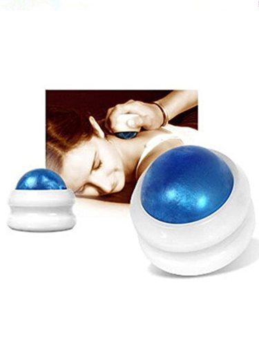 Massage Ball Roller Manual Blue Massager Household Heath SUPERB QUALITY MASSAGER:The massage ball roller is a superb quality massagerIt is made of on