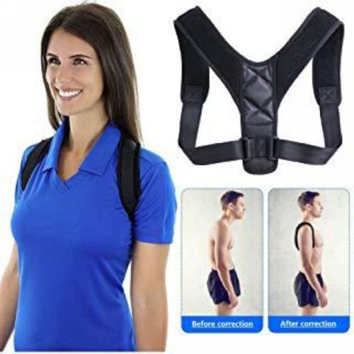 Breathable Adjustable Hump Correct Strap Posture Correction Belt for Men and Body Shaping Specifications: adult children men and womenPacking: OPP M