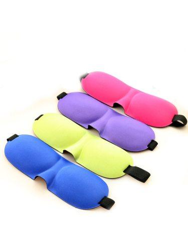 3D Sleep Eye Patches Breathable Comfortable Solid Color Night Sleep Eye Protective