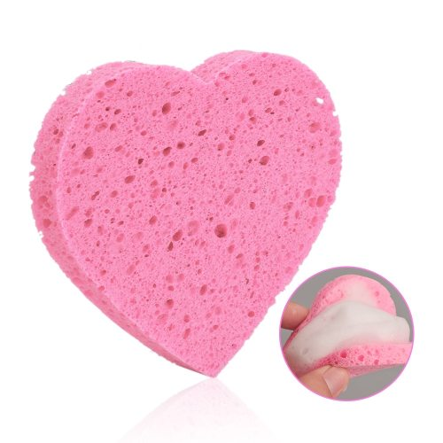 Makeup Remover Cellulose Pad Facial Cleanser Cosmetic Puff Exfoliator All Skin Type Lightweight Cleansing