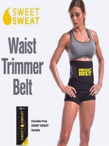 Neoprene Belt Sweat Premium Trainer Trimmer Belt Body Color: blackPower Belt is a compression belt that helps to shape your midsection It also burns