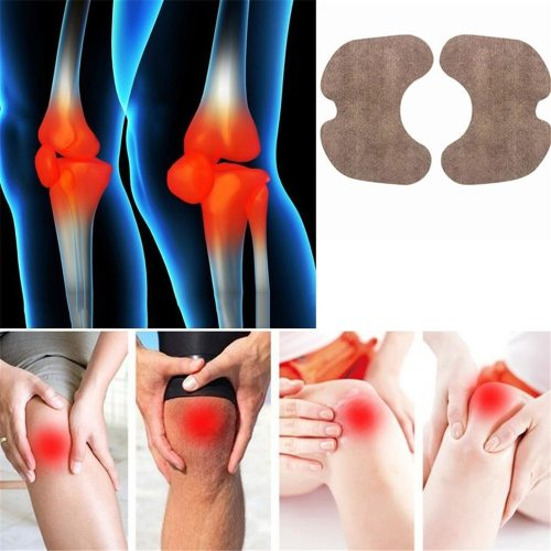 6 Pcs Ginger Warm Paste Sets Cold Knee Joint Plaster Health Care Leg