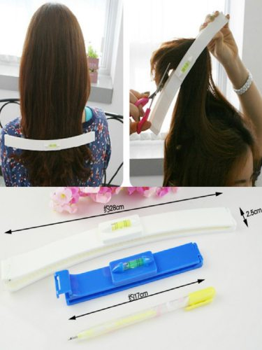 Hair Trimmer Fringe Cut Tool Clipper Comb Guide Haircut Tools Bangs feet long 17cm*25cm; Tail foot length 28cm*25cm Shaping All People