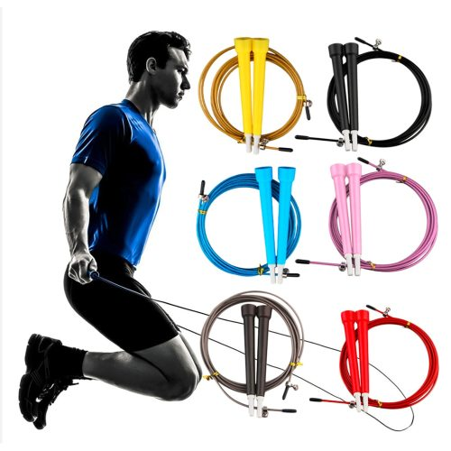 1 Piece Steel Wire Skipping Adjustable Jump Rope Fitnesss Body Shaping anytimeIdeal for shedding weight fast