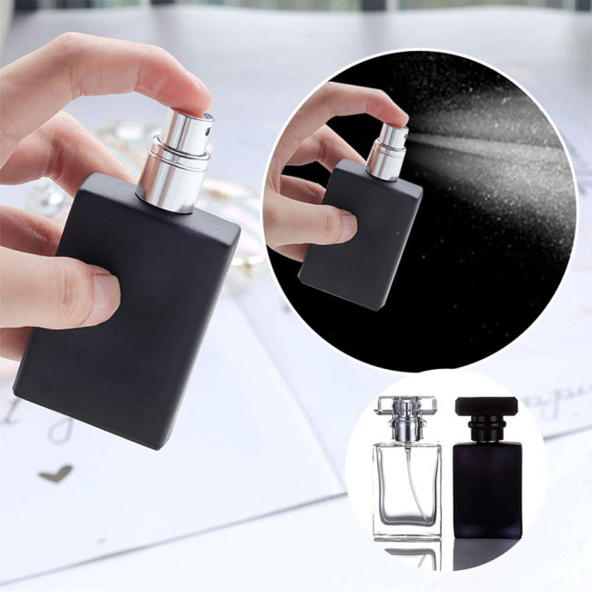 30ml Refill Glass Spray Refillable Perfume Bottles Glass Automizer Empty Cosmetic Container For good companion for business trips3 Elegant shape 94cm