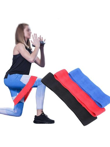 Resistance Hip Band Fitness Equipment For Warmups Squats Mobility Workout Leg Soft Non-slip Neck Tightening special material will not snap or catch