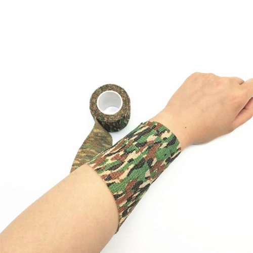 Camouflage Bandage Elastic Expansion Tape Gel-free Bandage Personal Care with a light fragrance It can be used repeatedly and feels goodNote: this is