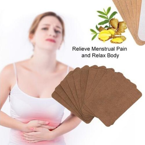 10 Pieces Natural Ginger Warm Palace Paste for Health Care Protective Women swelling