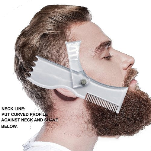 Rotation Beard Styling Brush Adjustable Beard Molding Size: 175 * 55 * 13 cm