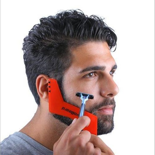 Beard Styling Template Carding Tool Men's Beauty plus packaging and instructions 20gProduct features: fashionable and unique shapes and exquisite