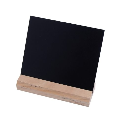 One Piece Blackboard Simple Mini Versatile Message Double-side Cork size:15*13cm