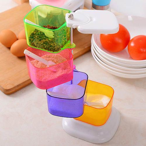 Seasoning Tool Creative Multi-Function Color Block Kitchen Size:26*12*12cm