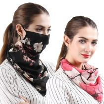 1 Pc Mask Multi-functional Floral Sun Block Scarf size please check the picture
