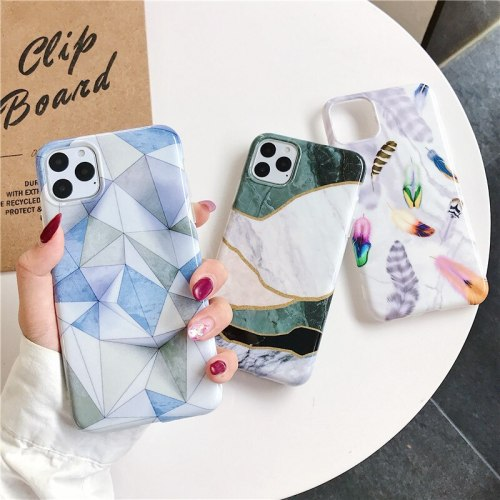 iPhone 11/11 Pro/11 Pro Max/XS/XR/XS Max/X/8/8 Plus/7/7 Plus/6/6S/6 Plus/6S Plus Phone Cover Creative Pattern Apple Soft Simple Full Protection