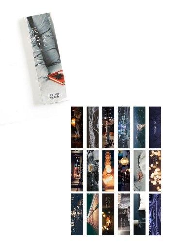 30 Pcs Bookmarks Creative Beautiful DIY Bookmarks Novel size:4*15*1cm