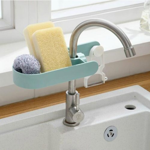 1 Piece Kitchen Faucet Rack Creative Draining Storage Shipping Unrestricted None