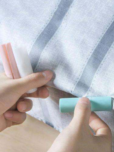 10 Pcs Sheet Clips Set Practical Bedding Fixing 10 Pieces Size: 66*17cm