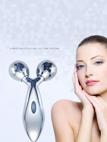 Facial Massager Portable 3D Manual Face Lift Tighten Slimming FeaturesSuitable for homeABS Portable