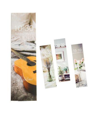 30Pcs Bookmarks Set Fresh Simple Pattern Creative Modern Style Students size:15*4cm