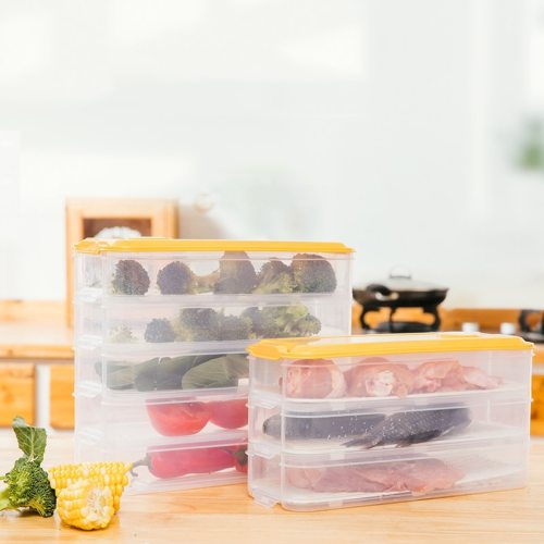 1 Piece Fruits Box Transparent Sealing Refrigerator Food Shipping Unrestricted None