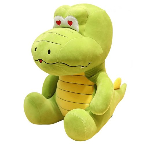 One Piece Kid's Plush Toy Cute Soft Green Crocodile Boy Girl Doll 10-14 Years Old size: 32cm Stuffed Animal Toy Others