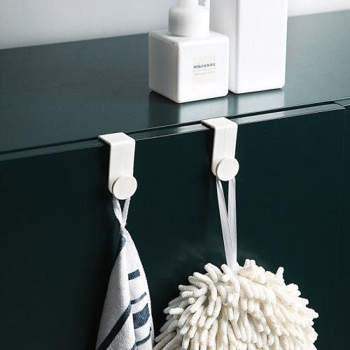 2 Piece Hooks For Cabinet Door Kitchen Bathroom Sundries Quantity:2