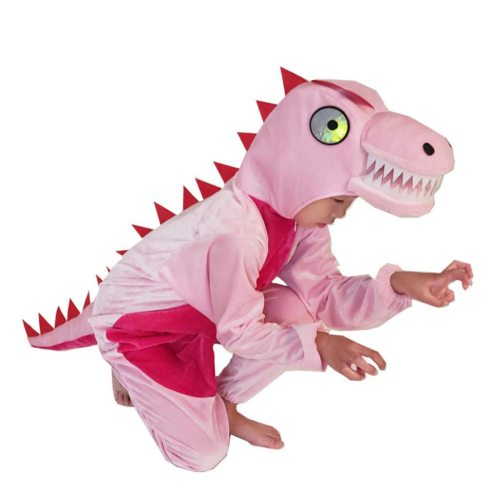 ' Costume Cartoon Overlord Dinosaur Stage Drama 6Y Teens All Unisex Ruffles Dance Costume Animal Long Sleeve