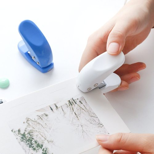 One Piece Paper Punch DIY Versatile Practical Copier Manual size:6*23*55cm