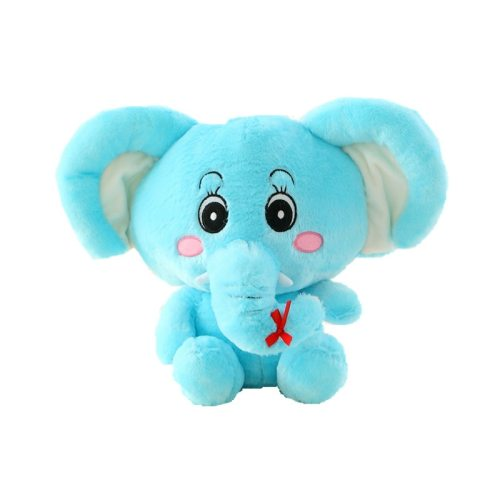 One Piece Children's Plush Toy Soft Cartoon Elephant Doll 0~3 Years Old size: 35cm Others Stuffed Animal Toy