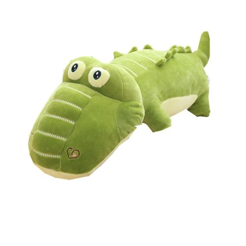One Piece Plush Toy Cartoon Crocodile Shaped 10-14 Years Old Others Stuffed Animal Toy