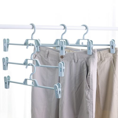 5 Pieces Hangers Household Versatile Pants Drying Packaging: PPDimensions: 345*145cm