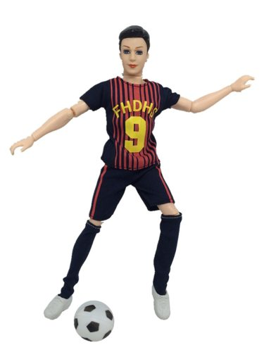 Doll Football Costume Set Creative Pattern Fashion Toy Sports