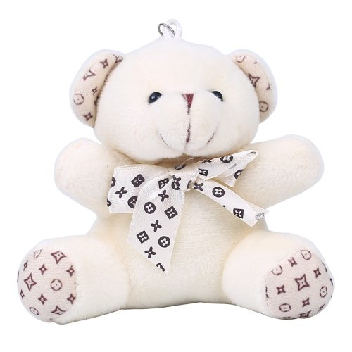 Plush Toy Bear Shaped Bow Decor Simple satchels 10-14 Years Old Stuffed Animal Toy Others