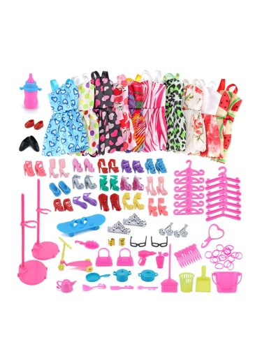 Doll's Dress Up Accessories Kit Toys Kid's Creative DIY [Size]: 20x13cm[weight]: 013kgAge: 3 years old or older