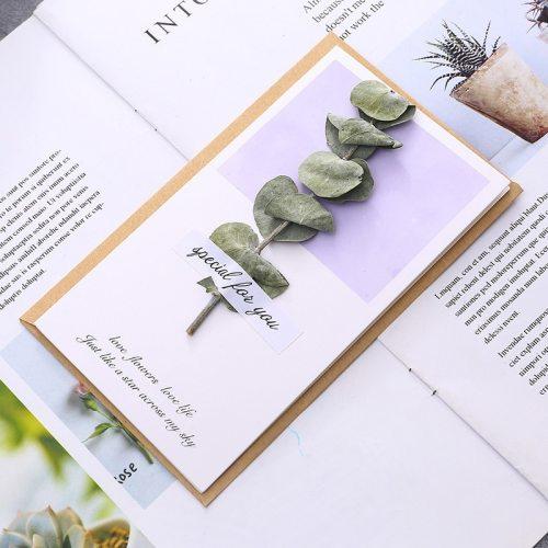 1Pc Card Creative Design Patchwork Versatile Greeting send by randomsize:165*10cm