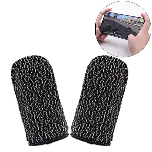 Finger Cots For PUBG Stall Sensitive Game Controller Sweatproof Breathable Touch Screen Finger summerProduct Size: 2 * 18 * 5cmPacking size: 5 * 2 *