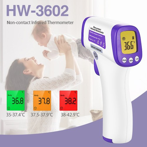 Electronic Thermometer Non-Contact Digital Display Temperature Type: Non-contactApplicable objects: Human body thermometerMeasuring range: body