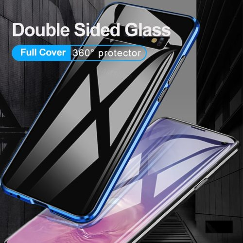 Series Phone Case Double Sided Metal Framed Glass Simple SAMSUNG Shatter-Resistant Samsung Hard