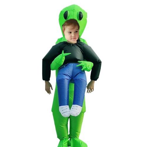Boy's Cosplay Wear Cartoon Likable Design Inflatable Animal Long Sleeve Cosplay Coat Teens