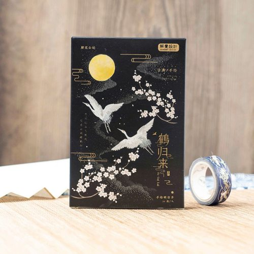 30 Pcs/Box Post Cards Creative Hand Painting Message Blessing size:93*143*15cm