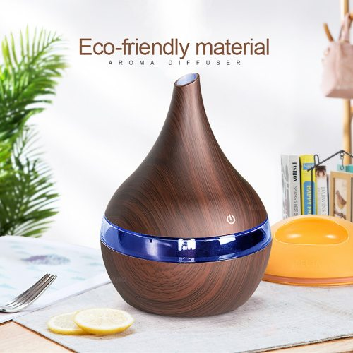 300ml USB Electric Aroma Air Diffuser Wood Grain Ultrasonic because if there is no spring wire
