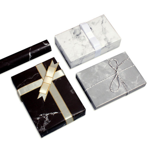 10 Sheets Gift Packaging Papers Marble Pattern Flowers Wrapping Others