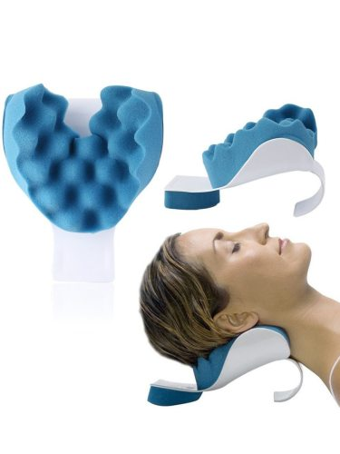 Neck & Shoulder Relaxation Pillow For Orthopaedic Relief Neck Shoulder Much More Who Can Use It? - Males- Females- Teenagers- Adults- Seniors- Men-