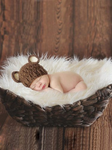 50*50cm Newborn Photography Props Fleece Baby Blanket Newborn Fotografia Baby Photography Solid Tassel 1 Size: 50*50 cm2 Weight: about 75 g3