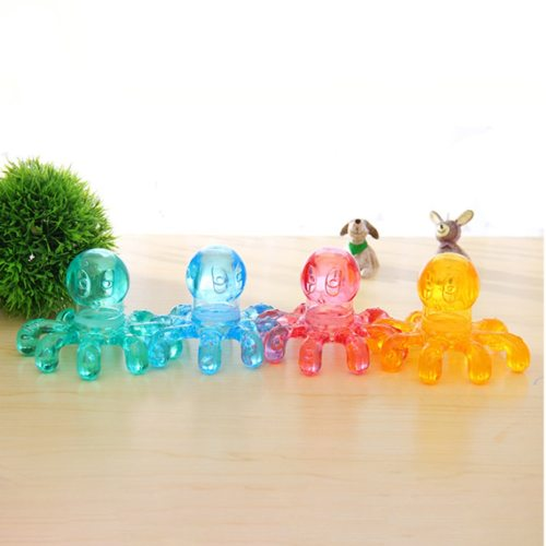 Plastic Massager Creative Practical Household Octopus Body SpecificationsName: MassagerGoods number: 190530OH-Y82GWeight: 82gSize: 9*11cm