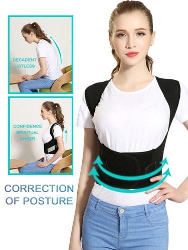 Humpback Correction Belt Comfy Students/Adults/Children Back Posture Correction stylish